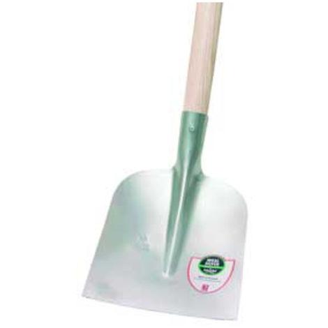 Ideal-Spaten Schaufel, Holsteiner Form (gerade), Größe 2, DIN 20120