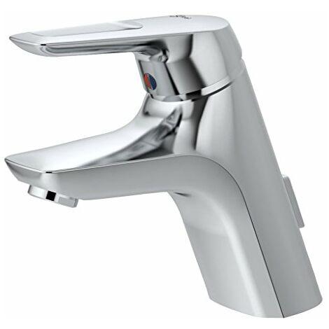 Ideal Standard A5646AA Ceramix Blue Miscelatore monocomando lavabo, tubi flessibili, cromato