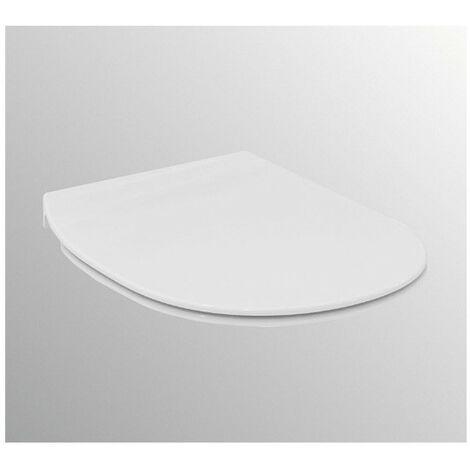 Ideal Standard - Abattant et couvercle fin Connect Air blanc