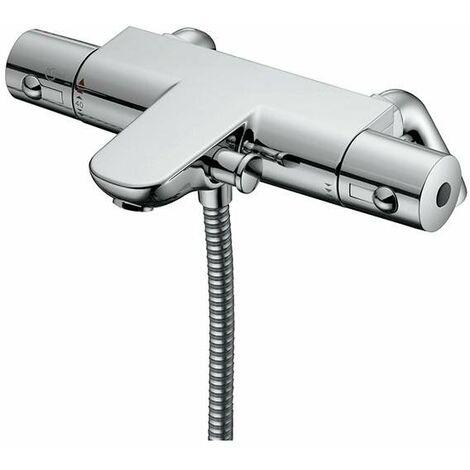 Ideal Standard Alto Ecotherm Thermostatic Shower Bar Valve Rim Mounting Legs Chrome