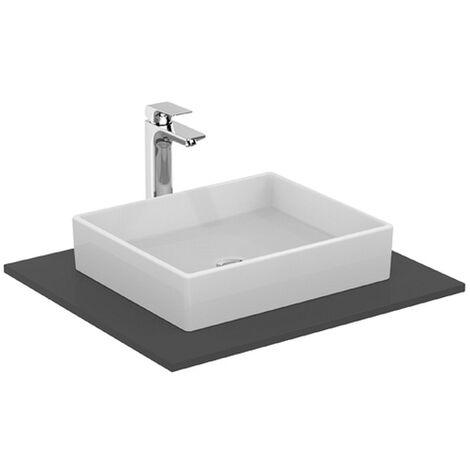Ideal Standard Aufsatzwaschtisch Strada, ohne Hahnloch 500 x 140mm, Weiß mit IP, K0776MA