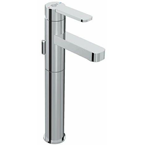 Ideal Standard B0601AA Giò Miscelatore monocomando lavabo per appoggio su piano, senza asta di comando scarico e piletta, cromato