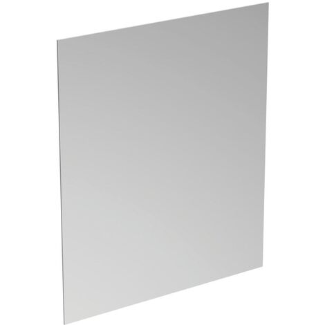 Ideal Standard Bathroom Mirror with Ambient Light and Anti-Steam 700mm H x 600mm W