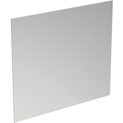 Ideal Standard Bathroom Mirror with Ambient Light and Anti-Steam 700mm H x 800mm W