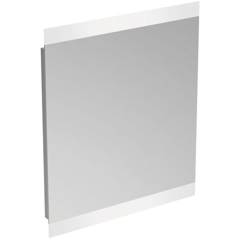 Ideal Standard Bathroom Mirror with Sensor Light and Anti-Steam 700mm H x 600mm W