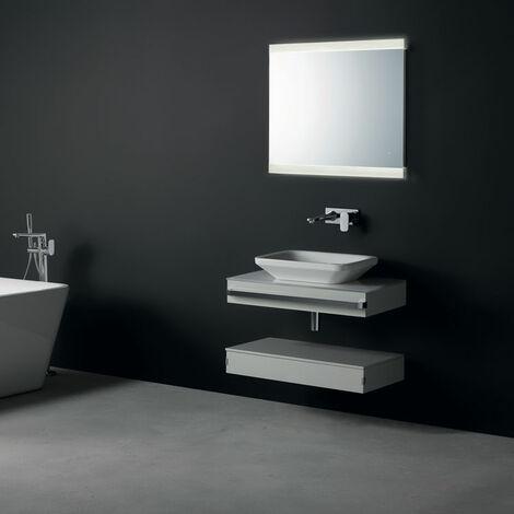 Ideal Standard Bathroom Mirror with Sensor Light and Anti-Steam 700mm H x 800mm W