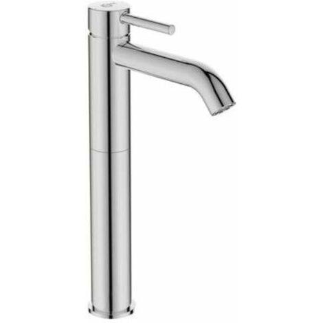 Ideal Standard BC269AA Ceraline Miscelatore lavabo da appoggio, senza asta di comando scarico e piletta, cromato