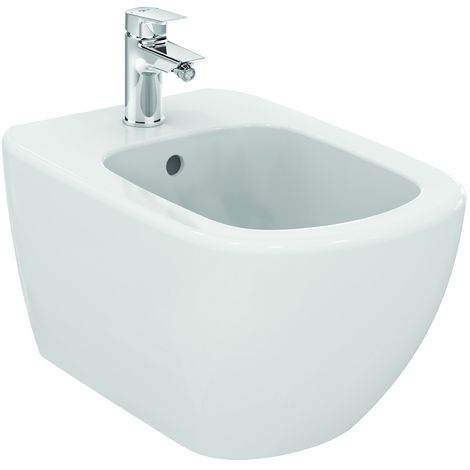 Ideal Standard Bidet suspendu Tesi avec fixation invisible (T355201)