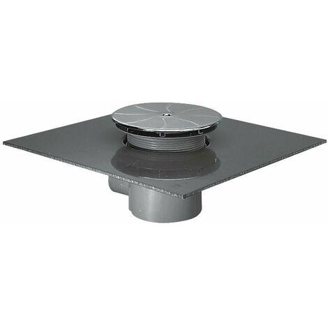 Ideal Standard - Bonde siphoïde Ø 90 mm sortie horizontale spéciale étanchéité chromé - Matura