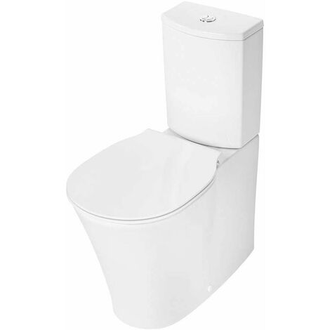 Ideal Standard Concept Air Back to Wall Close Coupled Toilet with 6/4 Litre Cistern - Slim Wrap Soft Close Seat