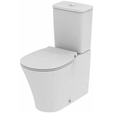 Ideal Standard Concept Air Close Coupled Back to Wall Toilet with 6/4 Cistern - Soft Close Seat