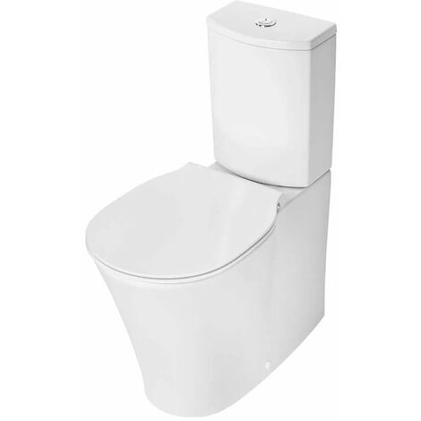 Ideal Standard Concept Air Close Coupled Back to Wall Toilet with Arc Cistern - Standard Seat