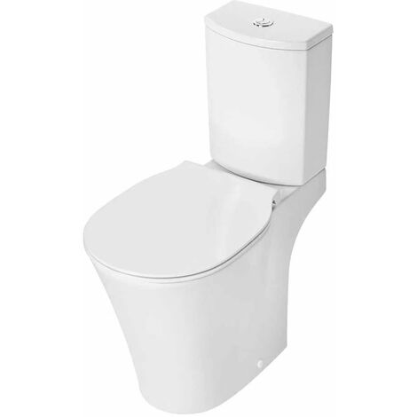 Ideal Standard Concept Air Close Coupled Toilet with 4/2.6 Litre Arc Cistern - Soft Close Seat