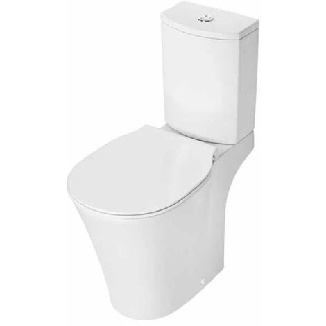 Ideal Standard Concept Air Close Coupled Toilet with 4/2.6 Litre Arc Cistern - Standard Seat