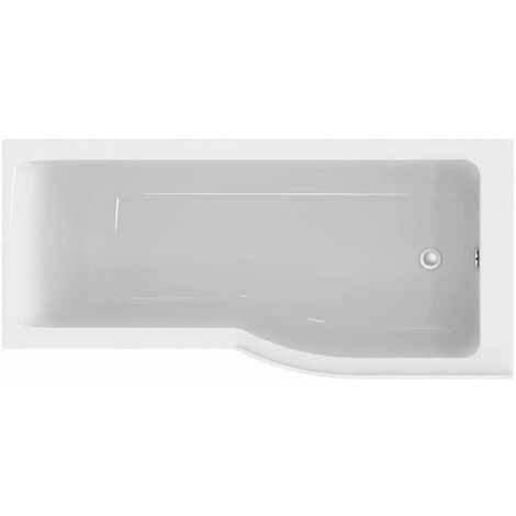 Ideal Standard Concept Air P-Shaped Plus Shower Bath 1700 X 700/800mm Right Handed