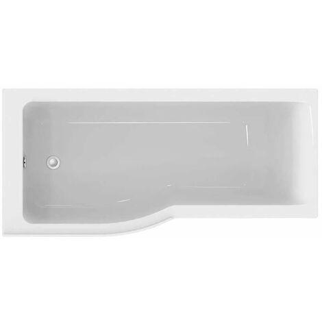 Ideal Standard Concept Air P-Shaped Shower Bath 1700 X 700/800mm Left Handed
