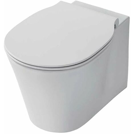 Ideal Standard Concept Air Wall Hung Toilet 545mm Projection - Standard Seat