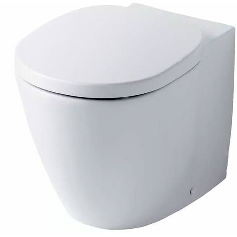 Ideal Standard Concept Aquablade Back to Wall Toilet 550mm Projection Slim - Soft Close Seat