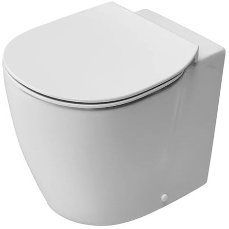 Ideal Standard Concept Aquablade Back to Wall Toilet WC 550mm Projection Slim - Standard Seat White