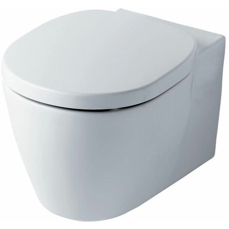 Ideal Standard Concept Aquablade Wall Hung Toilet WC -Standard Seat 545mm Projection White