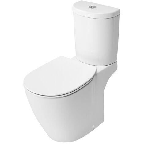 Ideal Standard Concept Arc Close Coupled WC Toilet Push Button Cistern Soft Close Seat White