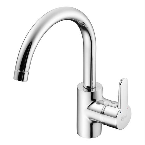 Ideal Standard Concept Blue Kitchen Mixer Tubular Spout Chrome
