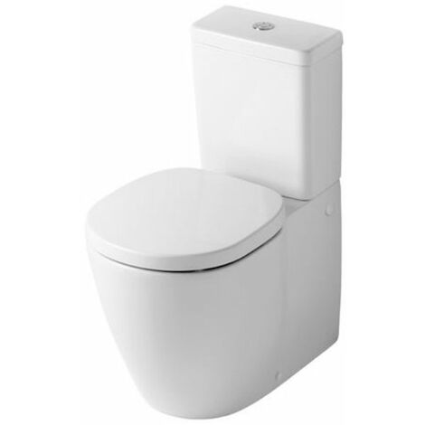 Ideal Standard Concept Close Coupled Toilet WC 6/4 litre Push Button Cistern - Soft Close Seat