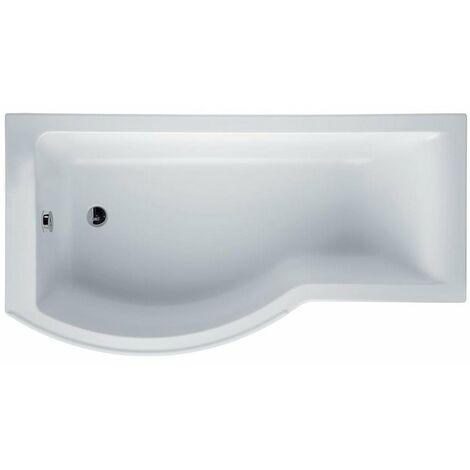Ideal Standard Concept Idealform Plus P-Shaped Shower Bath 1700mm x 700/900mm LH - 0 Tap Hole