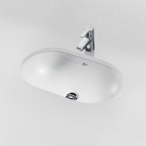 Ideal Standard Concept Oval Under-countertop Basin 620mm Wide