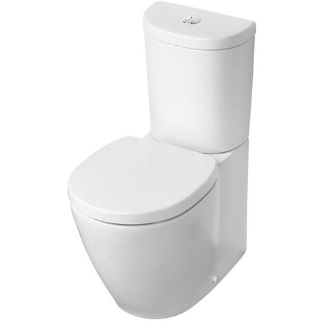 Ideal Standard Concept Space Close Coupled Toilet - Push Button Cistern - Standard Seat