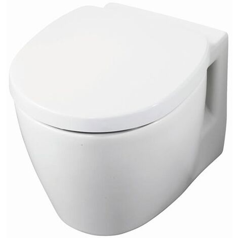 Ideal Standard Concept Space Compact Wall Hung Toilet WC - Standard Seat and Cover White
