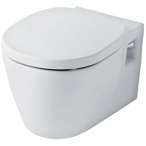Ideal Standard Concept Wall Hung Toilet with Soft Close Seat 545mm Projection White