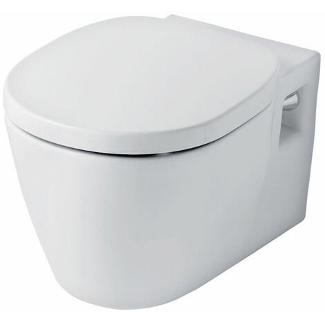 Ideal Standard Concept Wall Hung Toilet with Standard Seat 545mm Projection White