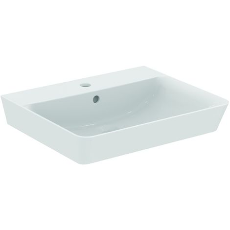 Ideal Standard CONNECT AIR Lavabo Cube 160 x 550 x 460 mm, blanc IdealPlus (E0299MA)