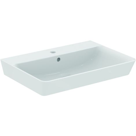 Ideal Standard CONNECT AIR Lavabo Cube 160 x 650 x 460 mm,blanc IdealPlus (E0297MA)