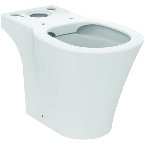 Ideal Standard CONNECT AIR WC avec sortie verticale - à poser 400 x 360 x 660 mm blanc (E017601)