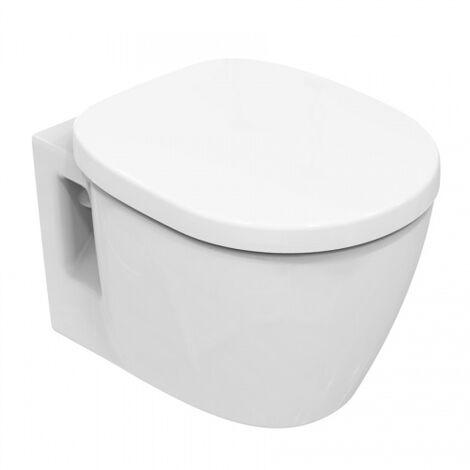 Ideal Standard Connect compact lavable au mur E8018, Coloris: Blanc avec Idéal Plus - E8018MA