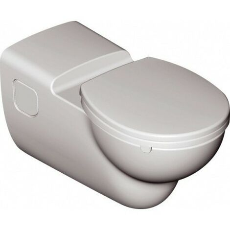 Ideal Standard Connect Freedom Lave-mur WC sans barrière, o Bord de chasse d'eau S3069, Coloris: Blanc avec Idéal Plus - S3069MA