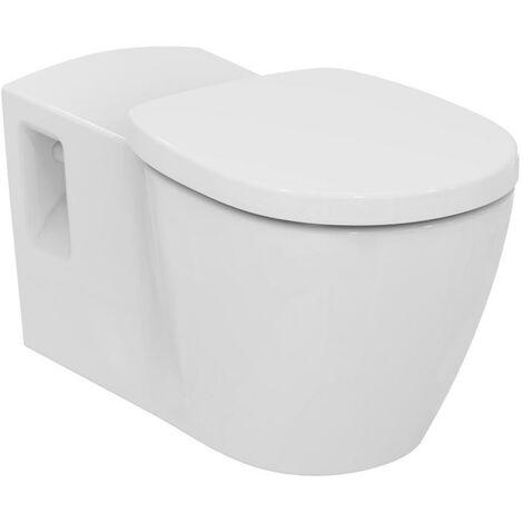 Ideal Standard Connect Freedom Mur lavable WC sans barrière, E8194, Coloris: Blanc avec Idéal Plus - E8194MA
