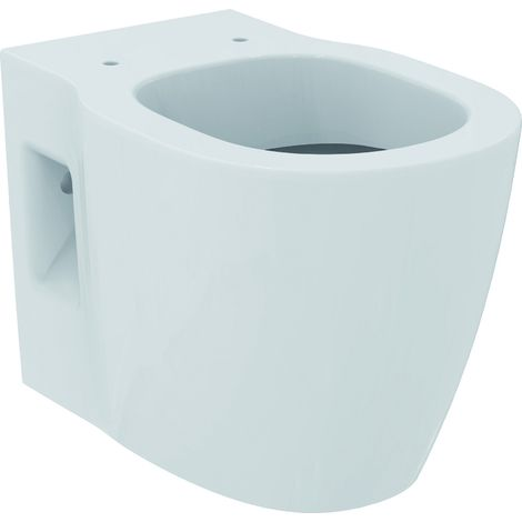 Ideal Standard CONNECT FREEDOM WALLHUNG BOWL - RAISED, white