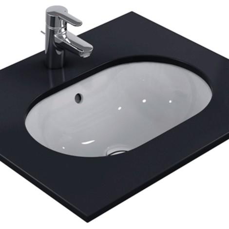 Lavabo Bajo.Ideal Standard Connect Lavabo Bajo Encastre Ovalado 48x35