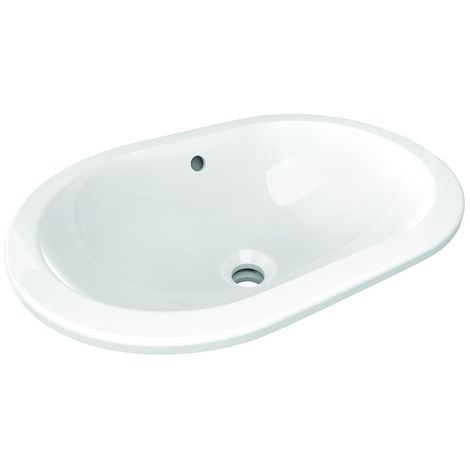 Ideal Standard Connect - Undercounter bassin ovale 550 mm blanc