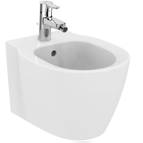 Ideal Standard Connect Wall bidé compacto E1192, color: Blanco con Ideal Plus - E1192MA
