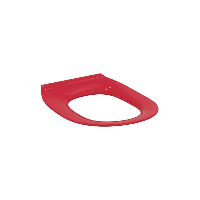 Anneau de siège de WC pour enfants Contour 21 Ecoles S4545, Coloris: rouge - S4545GQ - Ideal Standard
