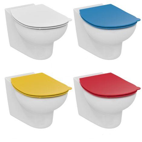 Ideal Standard Contour 21 Asiento de WC para niños Escuelas para S3123, S4533, color: Amarillo - S453379