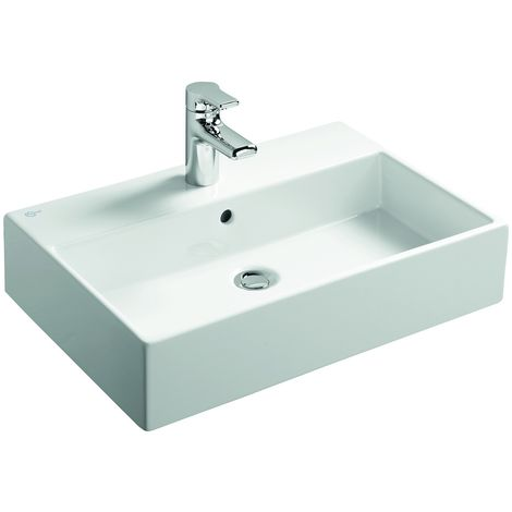 Ideal Standard Lavabo Strada 600mm K0778, Coloris: Blanc avec Idéal Plus - K0778MA