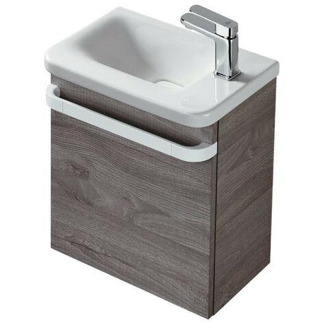 Ideal Standard - Meuble lave-mains droite chêne grisé - TONIC II