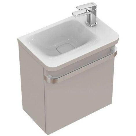 Ideal Standard - Meuble lave-mains droite sablon brillant - TONIC II