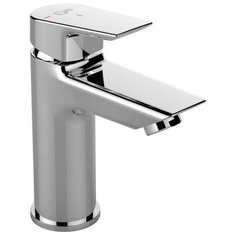 Ideal Standard - Mezclador de lavabo Tesi sin tirador ni desagüe cromado con boquilla fija