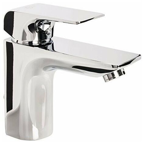 Ideal Standard, Miscelatore monocomando per lavabo, con comando di scarico, cromato, A6449AA